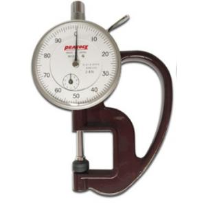 Толщиномеры индикаторные с диапазоном  0 - 10  мм (цена деления  0,01 мм)