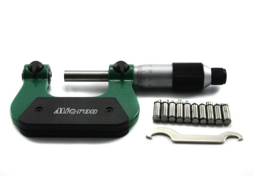 Микрометр  резьбовой со вставками   МВМ  225 с хранения
