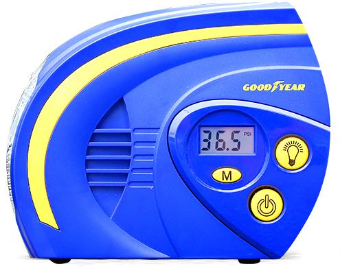 Компрессор  цифровой   № GY-2503   + фонарик