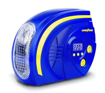 Компрессор  цифровой   № GY-2504   предустановка давления + фонарик