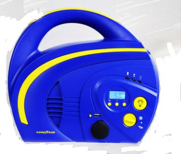 Компрессор  аккумуляторный   № GY-2505    многофункциональный