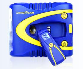 Компрессор  цифровой   № GY-2509       съемный манометр + фонарик
