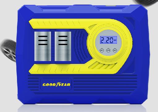 Компрессор  цифровой   № GY-2585 предустановка давления + 2 поршня