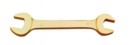 Ключ рожковый омедненный (искробезопасный) 32х36