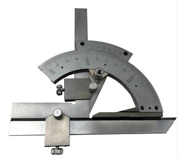 Угломер  нониусный  модель тип-2  (0-320°) 2′   1005 ( УН-127 ) без  параллакса   нержавейка