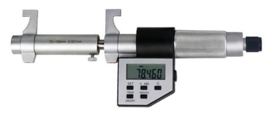 Нутромер  цифровой  с боковыми  губками   НМЦ-Б   100-125  0,001  без установочного кольца