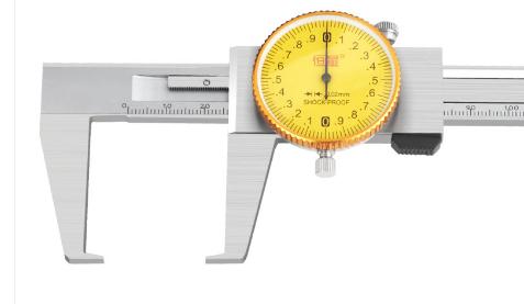 Штангенциркуль  ШЦКО  0 - 200  - 0,02  /   50  мм         плоские губы