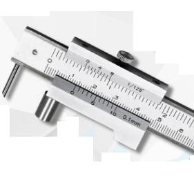 Штангенциркуль  разметочный  с  роликом и иглой  из  т/с    ШЦРТИ  400 - 0,1 / 0,05