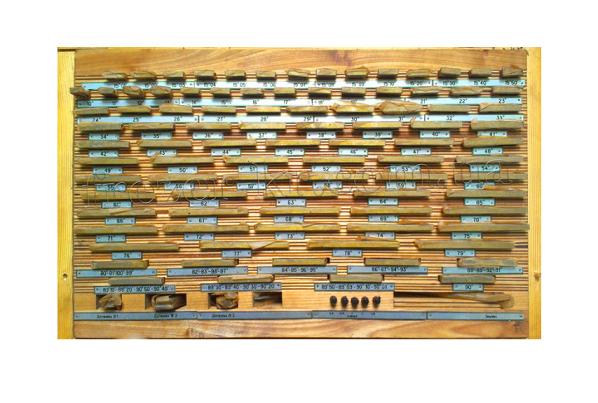 Набор  угловых  мер     №1  кл.1    ( 94 шт.)   с  хранения