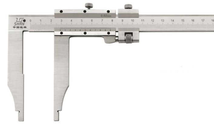 Штангенциркуль  ШЦ-III-400-0,05 губки 150 мм Эталон