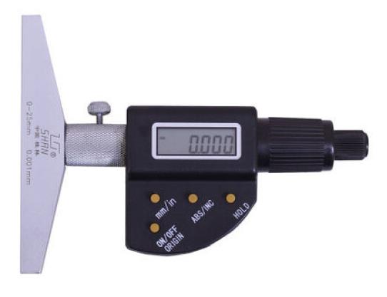 Глубиномер  цифровой ГЦ 150 0,001 SHAN
