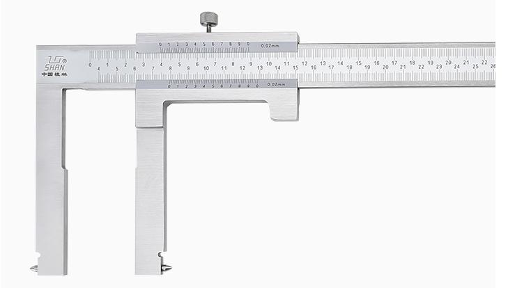 Штангенциркуль  ШЦО 50-550-0,02/ 150мм  SHAN    для измерения тормозных барабанов автомобиля