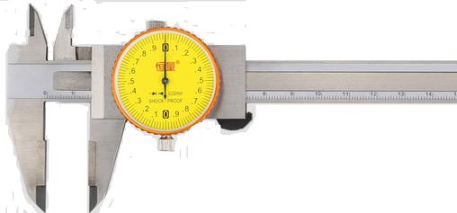 Штангенциркуль с круговой шкалой с напайками из  т/с    ШЦКТ-I- 150 - 0,02