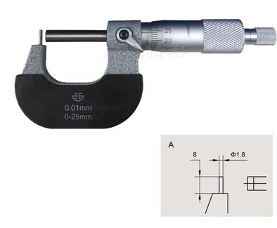 Микрометр трубный   МТ 25 тип А