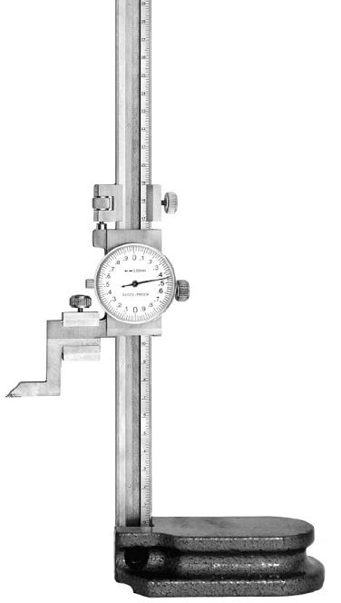 Штангенрейсмас с отсчетным устройством по круговой шкале   ШРК - 200-0,01