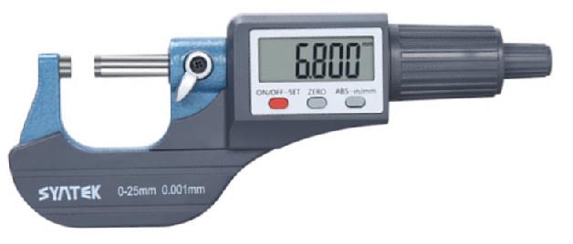 Микрометр цифровой   МКЦ 25   с  большим  дисплеем   Syntek