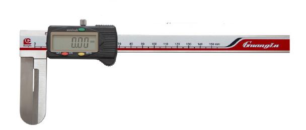 Штангенциркуль цифровой ШЦЦО 15-150-0.01/60  для внутренних измерений с удлиненными губками
