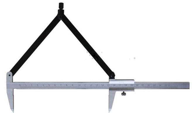 Штангенциркуль  разметочный с  измерительными  поверхностями  из твердого  сплава  ШЦРТ 150 - 0,1