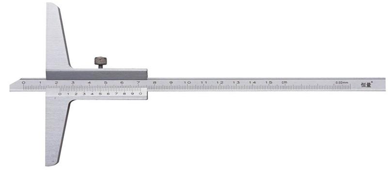 Штангенглубиномер  ШГ-600-0,02 моноблок