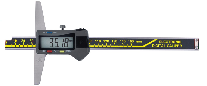 Штангенглубиномер  цифровой   ШГЦ-800-0,01