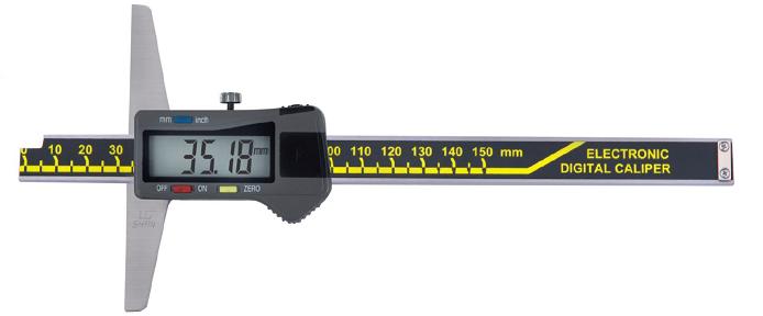 Штангенглубиномер  цифровой   ШГЦ-1000-0,01