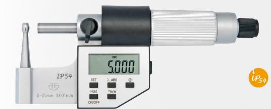 Микрометр  трубный  цифровой   МТЦ   25 - 50  мм   IP54  тип  А, В, С, D, E, F