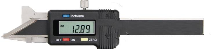 Штангенциркуль цифровой    ШЦУ (0-15) -  30° для измерения фасок