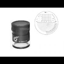 Лупа  измерительная    ЛИ - 1 - 10х      15-0-15      шкала  0,1  мм