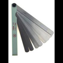 Набор  щупов  длиной  -  100 мм   /  0,02 - 1,0  мм