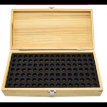 Кейс  деревянный  для  105  калибров
