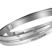 Циркометр  PT   350 - 525  шкала 0,01 мм,  +/- 0,03 мм нержавеющая сталь   AISI 301
