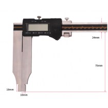 Штангенциркуль  ШЦЦ-III- 150 - 0,01      губки   75  мм