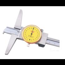 Штангенглубиномер  индикаторный   ШГК - 150-0,02  с 1-м зацепом толщина 2мм основание 150мм