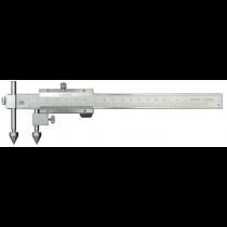 Штангенциркуль  ШЦО  10-300 - 0,02  для измерения межцентровых расстояний  ( круглые + конус )