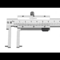 Штангенциркуль  ШЦО  80 - 500  - 0,02  / 150 мм    цилиндрические губы   для внутренних  канавок