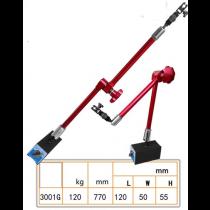 Штатив  магнитный  шарнирный  высота   770  мм  / 120 кг