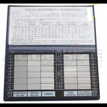 Набор  ОШП образцов шероховатости  HY - 3     Ra   0,05 - 12,5  мкм  /  30  шт