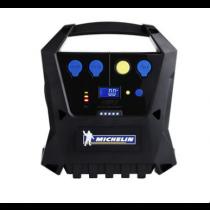 Компрессор  цифровой   №  4744  180 W   предустановка давления + фонарик  MICHELIN