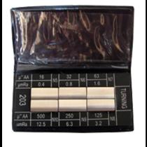Набор  4W - 202   для  торцевого  фрезерования  - Ra  0,4 - 12,5  мкм  / 6 шт