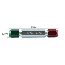 Ручка  для  калибров  5-6   мм  L - 80 мм, D - 12 мм