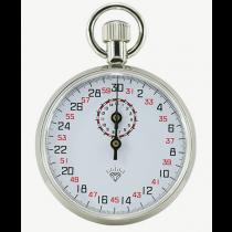 """Секундомер  механический  1-но  кнопочный  13JM  504   15′ 30""""   шкала -  0,1 сек."""