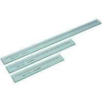 Линейка  стеклянная   200 мм    шкала    1 мм     точность   0,001  мм