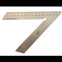 Угольник   разметочный   УП   100 мм     угол  45 °