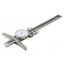 Штангенглубиномер  индикаторный   ШГК - 150-0,02  основание 150мм