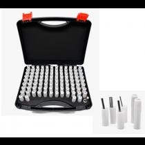 Набор пробок гладких цилиндрических с шагом 0,01 мм   от 12,5  до 13 мм  51  шт