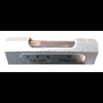Уровень  брусковый   84мм   0,45 (СЕРТИФИКАТ ISO 9001)