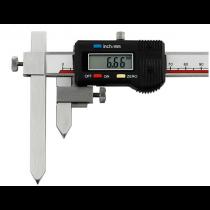Штангенциркуль  ШЦЦО  10-200 - 0,01  для измерения расстояний между центрами отверстий ( плоские )