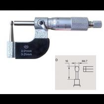 Микрометр трубный   МТ 25 (тип  D)