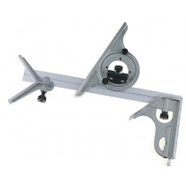 Угломер  универсальный  тип-1  ( 0°-180°)  1°  длина 300 мм     завод  SHAN