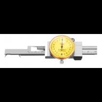 Штангенциркуль  ШЦКО  0 - 200  - 0,02  индикаторный  для  внутренних  пазов   тип І